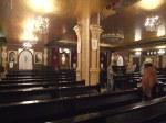 Inside of Coptic church in Sharm