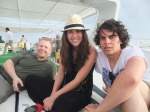 Friends on Red Sea Cruise