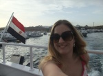 Me and Egyptian flag on Red Sea Cruise