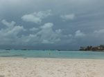 North point beach at Isla Mujeres