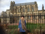 Me at Rosslyn Chapel