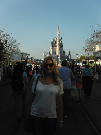 Me at the Most Magical Place on Earth