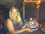 Me with my amazing birthday cake