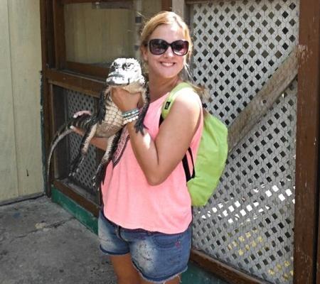 Gator and me
