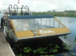 Our airboat Taz