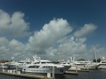 Mega yacht parking